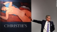 Christie's auction, via CNN