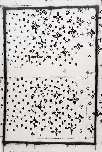 Christopher Wool, Untitled (P271) (1997), via Phillips