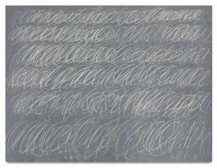 Cy Twombly, Untitled (New York City) (1968), via Sotheby's