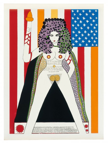 Dorothy Iannone, The Statue Of Liberty (1977), via Peres Projects
