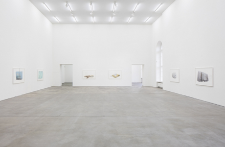 Ed Ruscha, Metro Mattresses (Installation View), via Sprüth Magers Berlin