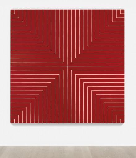 Frank Stella, Delaware Crossing (1961), via Sotheby's