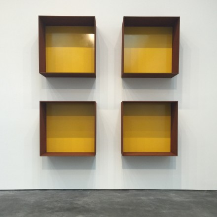 Donald Judd, Untitled (1991), via Rae Wang for Art Observed