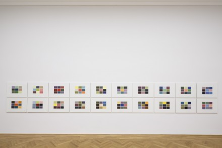 Gerhard Richter, 180 Farben (180 Colours) (1971) Photo: David Brandt