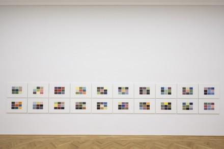 Gerhard Richter, 180 Farben (180 Colours) (1971) Photo: David Brandt