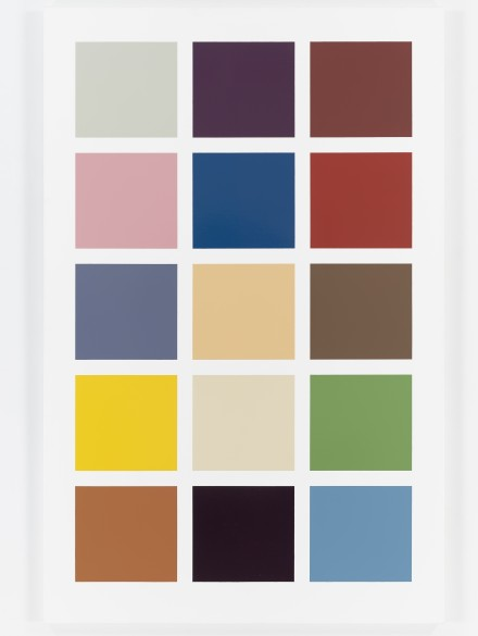 Gerhard Richter, Fünfzehn Farben (Fifteen Colours) (1966-1996) Photo: Tom Powell Imaging, Inc.