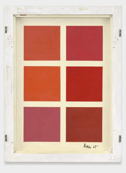Gerhard Richter, Sanger (Singer) (1965-1966) (Verso) Delfanne Photography