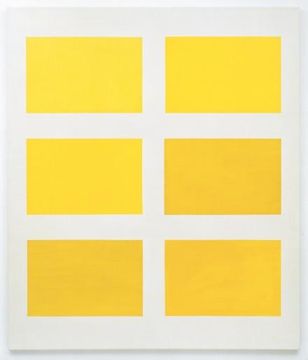 Gerhard Richter, Sechs Gelb (Six Yellows) (1966) Photo: Volker Naumann, Schönaich