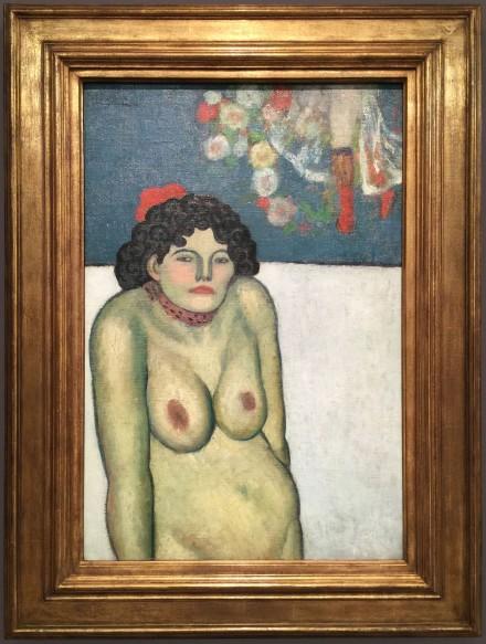 Pablo Picasso, La Gommeuse