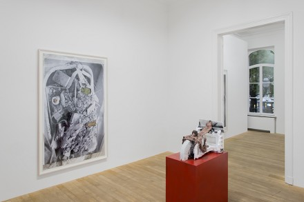 Huma Bhabha, Wages of Fear (Installation View)