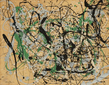 Jackson Pollock, Number 17, 1949 (1949), via Sotheby's