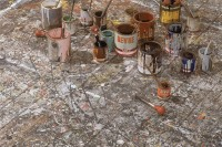 Jackson Pollock's studio, via Art Newspaper