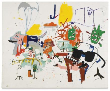 Jean-Michel Basquiat, Untitled (1987), via Sotheby's
