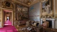 Lawrence Weiner at Blenheim Palace, via BBC