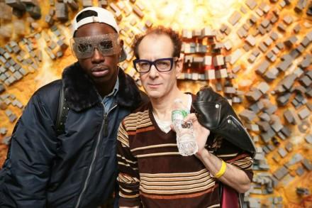 Le1f and Justin Strauss, credit Angela Pham/BFA.com