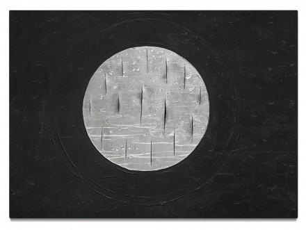 Lucio Fontana, Concetto Spaziale (1961), via Sotheby's