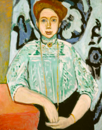 Matisse's Portrait of Greta Moll, via The Guardian
