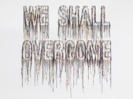 Nari Ward, We Shall Overcome (2015), via Lehmann Maupin