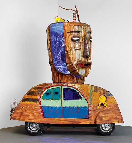 Os Gemeos, Untitled (2015), via Mana Contemporary
