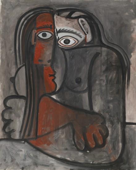 Pablo Picasso, Nu, Les Bras Croisés (1961)