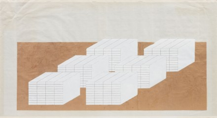 Rachel Whiteread, Books (1997), image courtesy the artist and Luhring Augustine