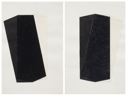 Rachel Whiteread, Untitled (Left and Right) (1997-1998)