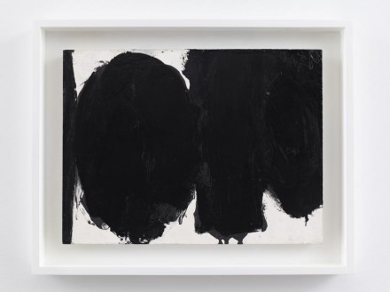 Robert Motherwell, In Black and White (1959), via Dominique Lévy