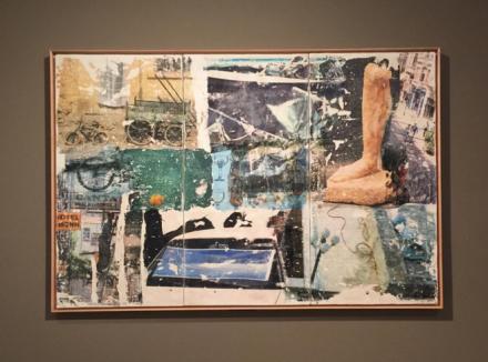 Robert Rauschenberg, Ulterior Motive (Arcadian Retreat) (1996), via Art Observed