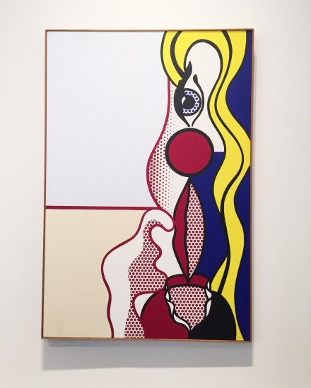Roy Lichtenstein, Female Figure (1978), via Rae Wang for Art Observed