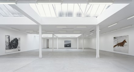 Rudolf Stingel (Installation View), via Sadie Coles HQ