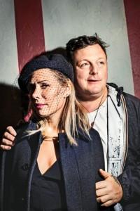 Tara Subkoff and Urs Fischer, via New York Magazine
