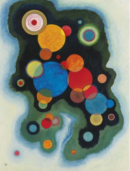 Wassily Kandinsky, Vertiefte Regung (1928)