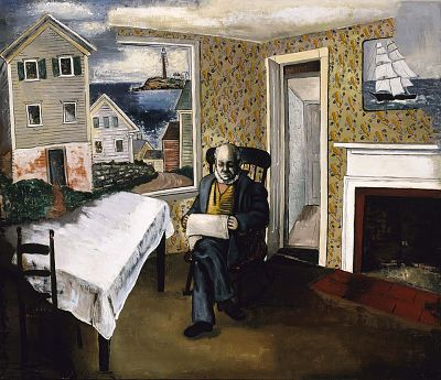 Morris Kantor, The Captain's House (1929)