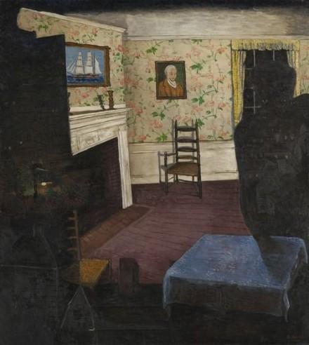 Morris Kantor, Haunted House (1930)