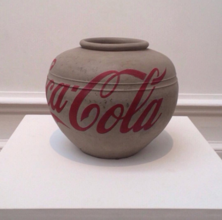 Ai Weiwei, Coca-Cola Vase (2010), via Art Observed
