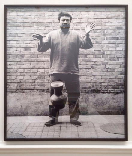 Ai Weiwei, Dropping a Han Dynasty Urn (1995), via Art Observed