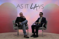 Brett Easton Ellis and Alex Israel, via Art News