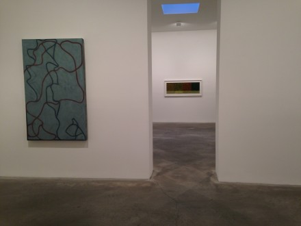 Brice Marden, New Paintings and Drawings at Matthew Marks (Installation View)