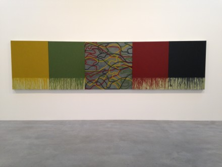 Brice Marden, Uphill With Center (2012-2015)