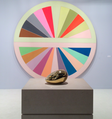 Constantin Brancusi and Frank Stella at Paul Kasmin