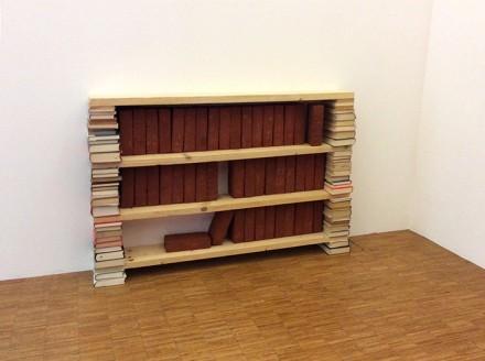 Dominique Gonzales-Foerster,  Bibliothèque (1985)