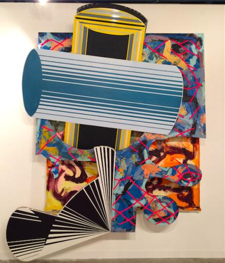 Frank Stella at Marianne Boesky