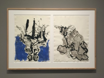 George Baselitz, Untitled (2015), via Art Observed