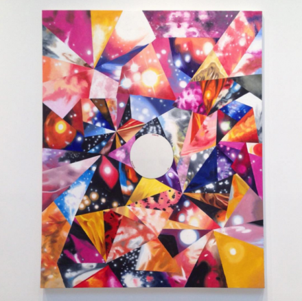 James Rosenquist, An Intrinsic Existence (2015), via Art Observed