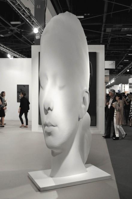 Jaume Plensa at Galerie Lelong