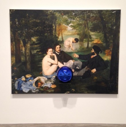 Jeff Koons, Gazing Ball (Manet Luncheon on the Grass), 2014-2015