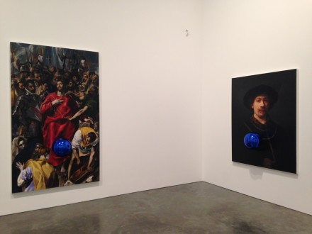 Jeff Koons, Gazing Ball Paintings (Installation View)
