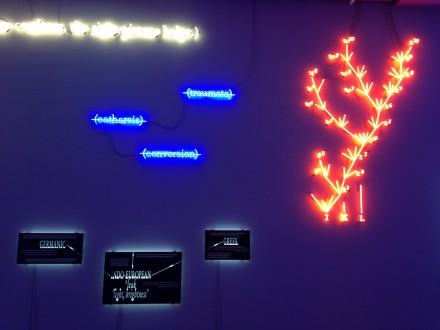 Joseph Kosuth, Agnosia, an Illuminated Ontology (Installation View)