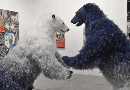 Paola Pivi at Galerie Perrotin