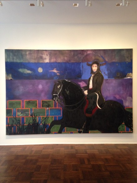 Peter Doig, Horse and Rider (2014)